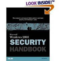 Jeff Schmidt Windows 2000 Security Handbook