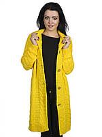 Кардиган лимонного цвета размер 44-48 универсал