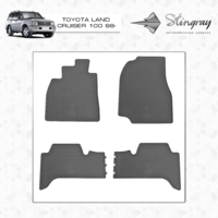 Коврики в салон для Toyota Land Cruiser 100 1998-
