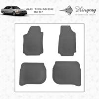 Резиновые коврики Audi 100/A6 (C4) 1990-1997 (передние)