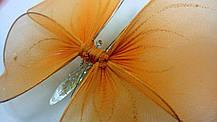 Декоративная Бабочка для штор оранжевая, фото 2