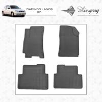 Резиновые коврики Daewoo Lanos 1997- (передние)