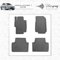 Резиновые коврики Honda Accord 7 2003-2008 (передние)
