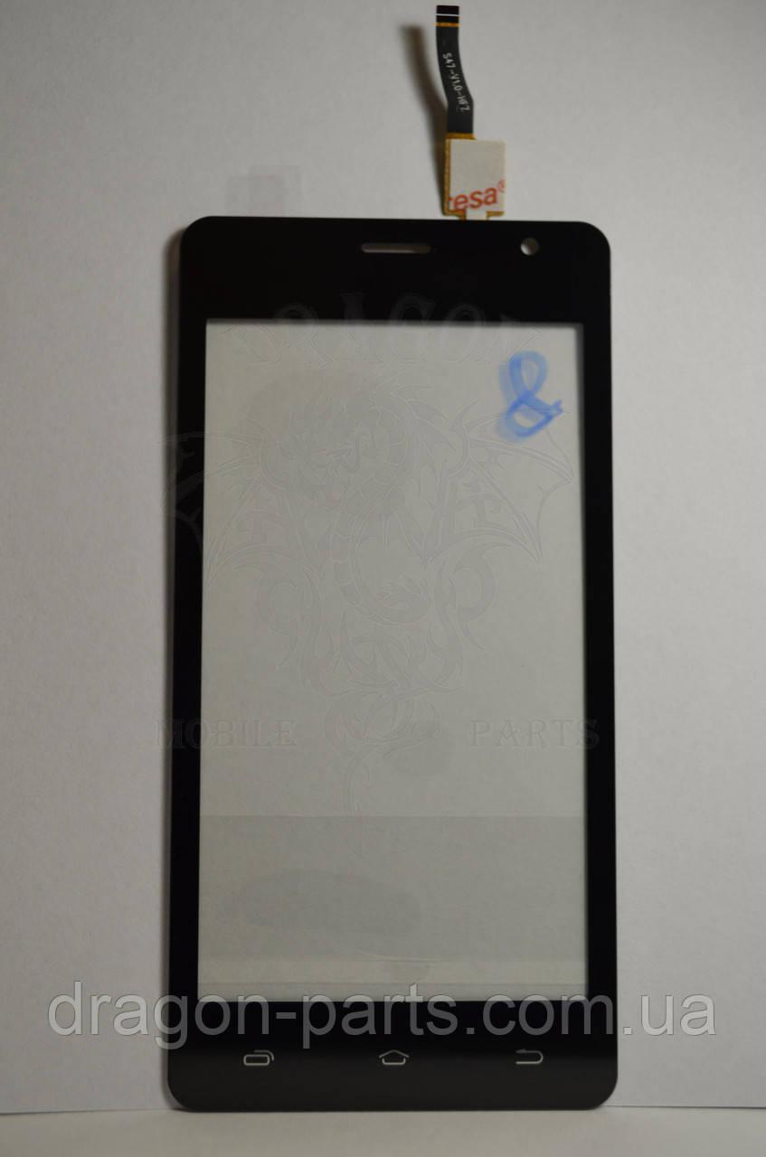 Тачскрин Nomi i4510 BEAT M сенсорная панель черная ,оригинал