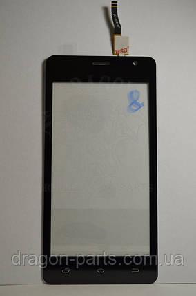 Тачскрин Nomi i4510 BEAT M сенсорная панель черная ,оригинал, фото 2