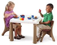 Кухонный стол и стулья Step2