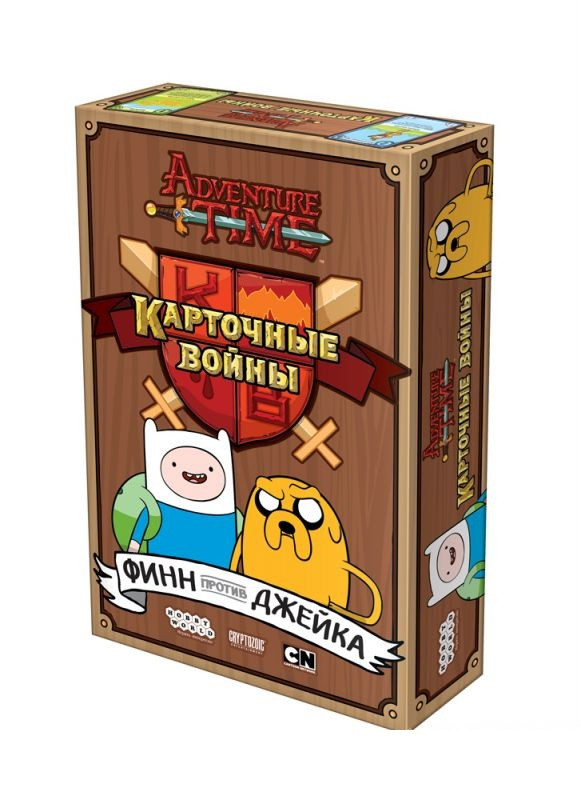 Настольная игра Карточные войны: Финн против Джейка (Adventure Time: Card Wars - Finn vs. Jake)