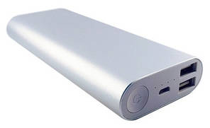 Power Bank ARUN M2 Silver 16000mAh Оригінал!