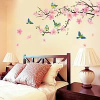 """Вінілові наклейки на стіну """"Персик"""", фото 1"""
