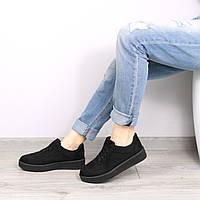 Кроссовки женские RiRi черные 36 размер, спортивная обувь