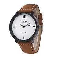 Часы мужские наручные коричневые арт. 0001