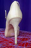 """Туфли свадебные """"Злата"""", фото 3"""