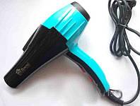 Фен для волос Domotec MS-9120, ионизация, 1200 Вт, выбор скорости и температуры, концентратор