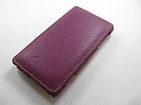 Кожаный чехол Melkco HTC 8S A620e (фиолетовый)