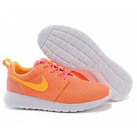 Кроссовки женские Nike Roshe run II sunset time atomic mango
