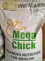Агроветатлантик,Mega Chick™ HS. ( КС 2-6)  25 кг