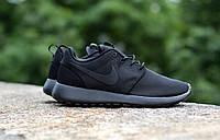Кроссовки женские New  Nike Roshe run II Black, фото 1
