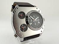 Часы мужские Alberto Kavalli в стиле Diesel steampunk, цвет нержавейка