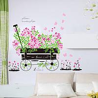 Интерьерная виниловая наклейка на стену