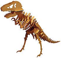 Объемная модель Динозавра деревянный 3D пазл