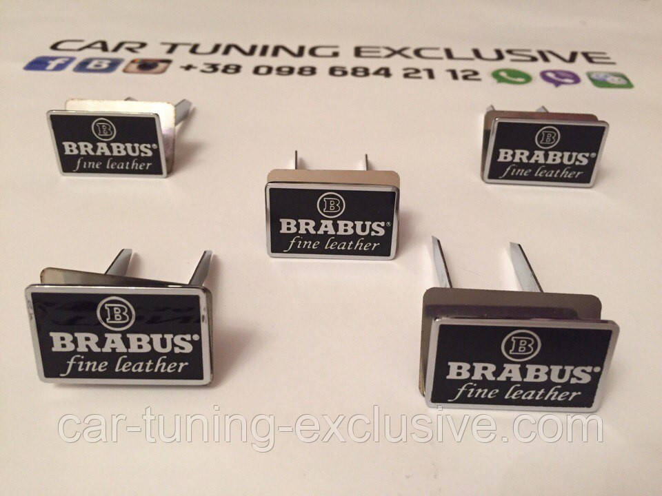 BRABUS emblems interior seats for Mercedes G-class