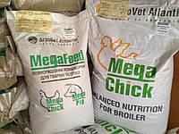 Агроветатлантик Mega Chick™ BS( старт 1-14 днiв ) Рентабельность корма 400% 10 кг