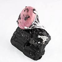 Родонит орлец, серебро 925, кольцо, 219КР