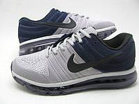 Кроссовки мужские Nike Air max 2017 Blue-grey