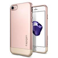Чехол Spigen для iPhone 7 Style Armor, Rose Gold, фото 1