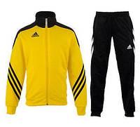 Детский спортивный костюм Аdidas Sereno 14 (желтый)