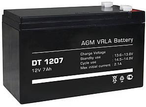 Аккумулятор 12V 7Ah гелевый BAPTA!Акция, фото 2