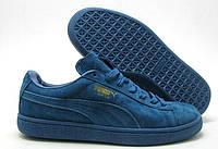 Кроссовки мужские Puma Classic Suede Blue