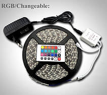 Лента светодиодная RGB SMD3528+Пульт+Контроллер+Блок питания. В силиконе!!Акция, фото 3