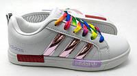 Женские кроссовки Adidas SuperStarNMD белые с розовым