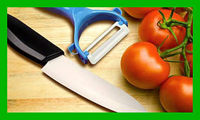 Керамический нож и овощечистка Ceramic Knife!Акция, фото 2