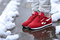 Мужские кроссовки Reebok CL Classic Suede Red