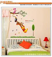 """Интерьерная виниловая наклейка на стену для детей """"Винни Пух"""""""