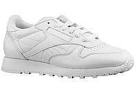 Мужские кроссовки New Reebok CL Classic white leather, фото 1