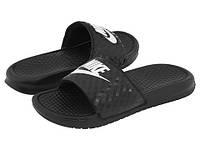 Тапки мужские Nike Benassi 1 Black, фото 1