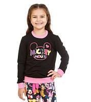 "Трикотажная кофта ""Mickey Mouse"" для девочки 5-10 лет (размер 110-140) ТМ Kids Couture"