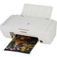МФУ для печати CANON PIXMA MG 2555 многофункциональное устройство 3 в 1 принтер сканер копир струйный