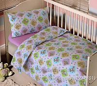 Постельное белье в кроватку Блакит Ути-Пути Детский комплект наволочка 60х60 (1 шт)
