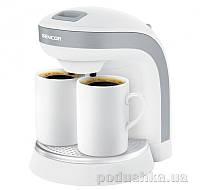 Кофеварка капельная Sencor SCE2001WH белая