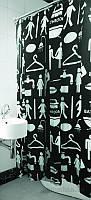 Шторка для ванной Arya Woman Man 180х180 см
