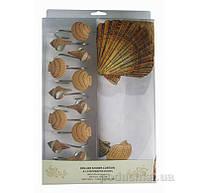 Шторка для ванной Arya Shell 180х180 см