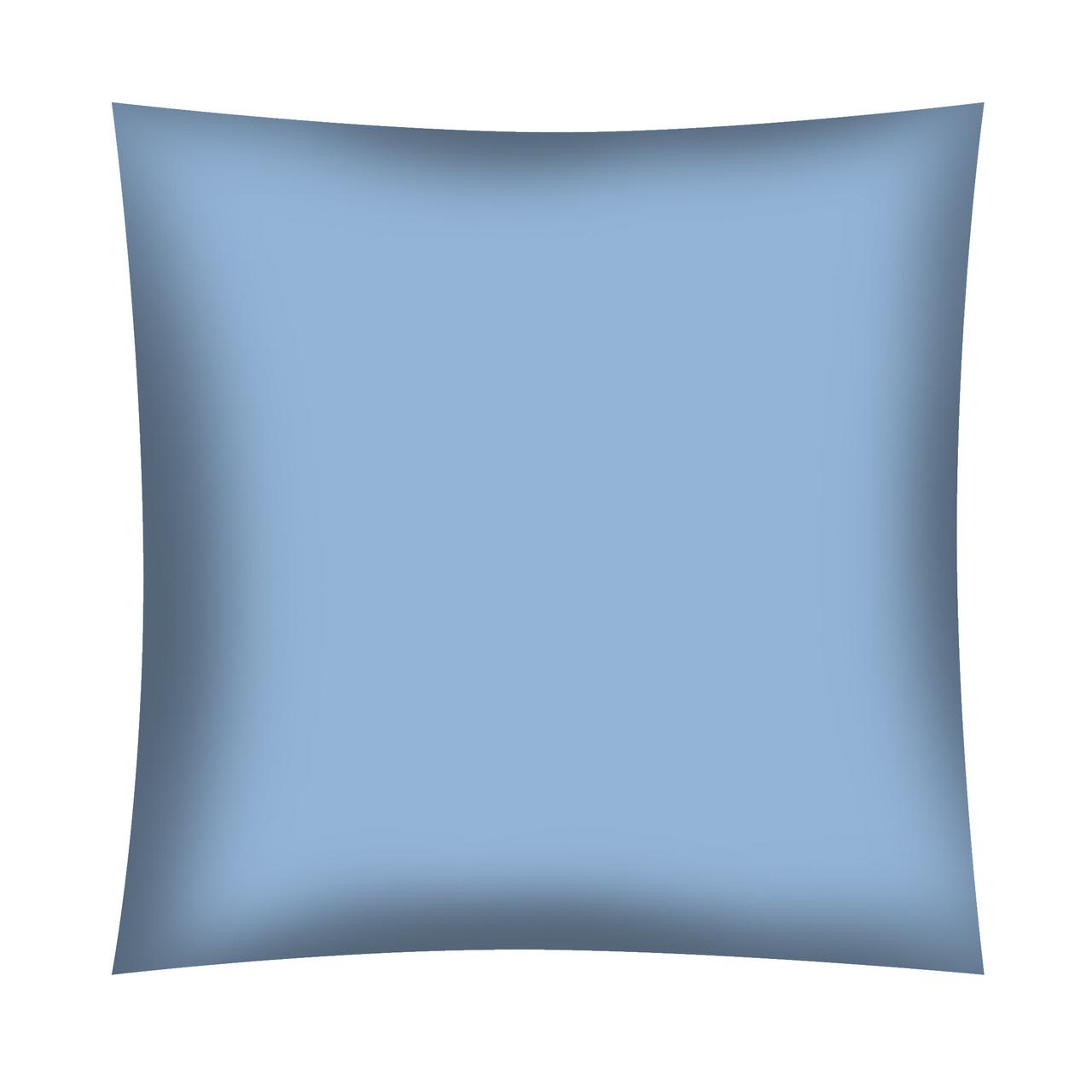 ✁Відрізи однотонної темно-блакитний бязі (Польща!)