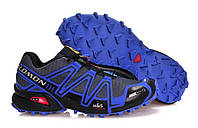 Кроссовки мужские Salomon speedcross 3 Blue