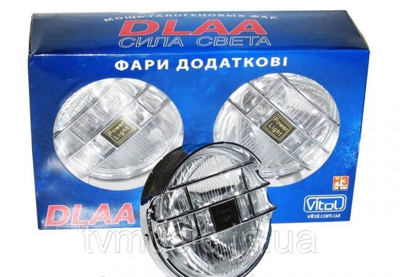 Противотуманные фары DLAA 1090 E-W хром