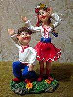 Украинский сувенир - Пара танцующих украинцев, фото 1