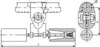 Гаситель вибрации ГПГ-0,8-9,1-350/16